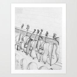 Cellos Art Print