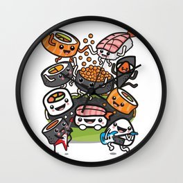 Sushi Rock Wall Clock