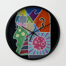 21st Century Dreaming Wall Clock