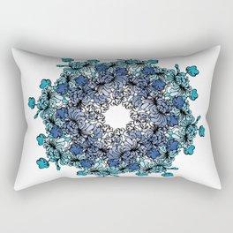Indigo Bloom Portuguese Tiles – Porto Rectangular Pillow