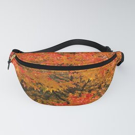 Maple Flames Fanny Pack