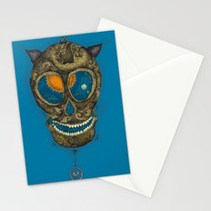 the pendulum Stationery Cards