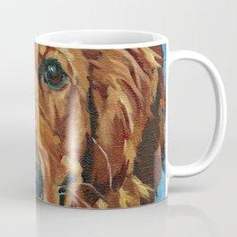Coper the Golden Retriever Dog Portrait Coffee Mug