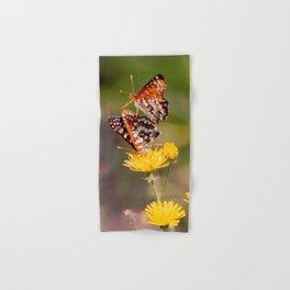 Butterfly Acrobats Hand & Bath Towel