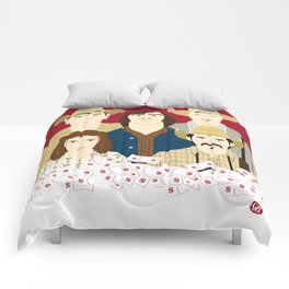 The Country Of Living Dangerously (Faces & Movies) Comforters