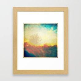 Friday Morning Sunrise Framed Art Print