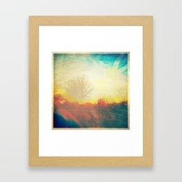 Friday Morning Sunrise Framed Art Print
