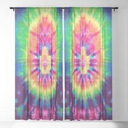 Tie-Dye #2 Sheer Curtain