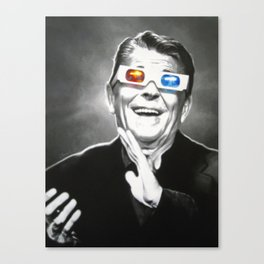 Reaganesque Canvas Print