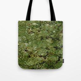 Green Camo Tote Bag