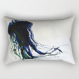 ocean creature Rectangular Pillow