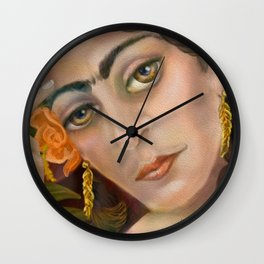 Freida Kahlo: When I Dream Wall Clock