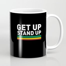 Get Up Stand Up / Rasta Vibrations Coffee Mug