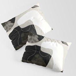 moon shine abstract art Pillow Sham