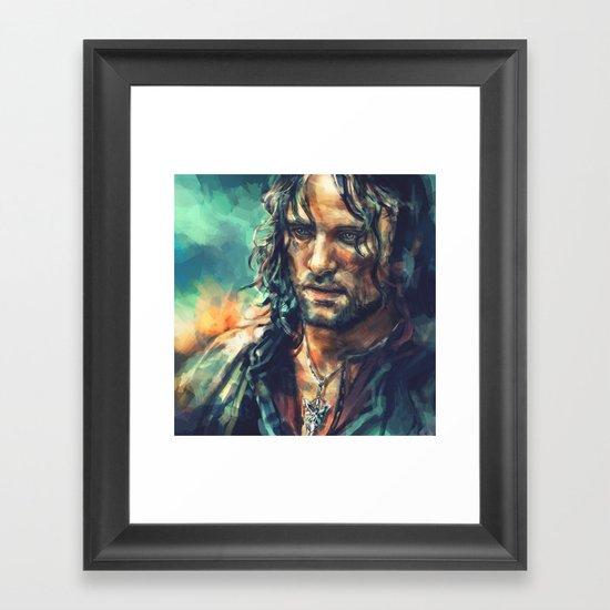 Elessar Framed Art Print