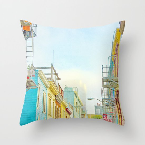 SF Tops 1 Throw Pillow