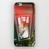 vw bus iPhone & iPod Skins featuring vw bus by MacKenna Carney