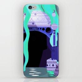 Moon Temple iPhone Skin
