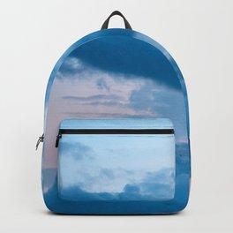 Dolomites moon blue hour Backpack