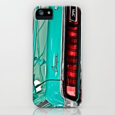 1970 Teal Blue Mercury Cougar  iPhone (5, 5s) Slim Case