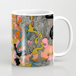 Warm Petals & Salty Shells Coffee Mug