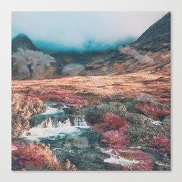 Fairy Pools Canvas Print
