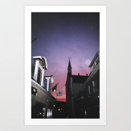 Brighter Side of Enschede Art Print