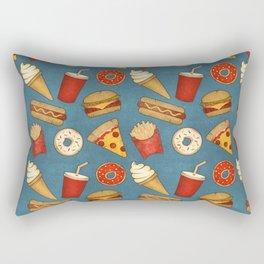 Fast Food Rectangular Pillow