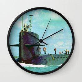 USS THEODORE ROOSEVELT (SSBN-600) Wall Clock