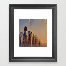 Freedom Tower Fantasy Framed Art Print