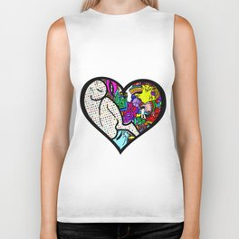 Kindness in a pop soup Biker Tank