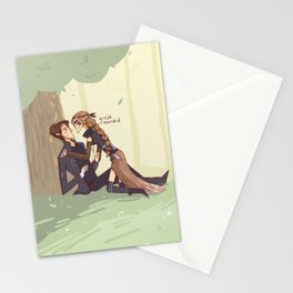 Grounder!Abby Stationery Cards