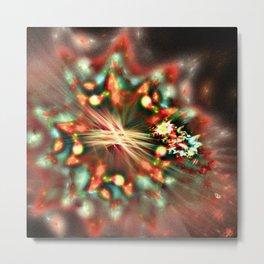 Christmas Flower Metal Print
