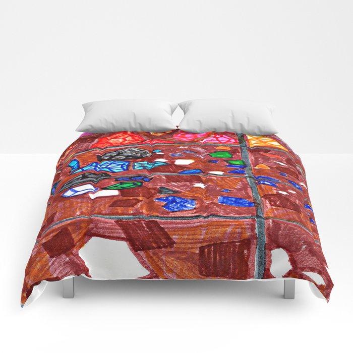 Gem Excavation Comforters