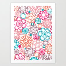 BOLD & BEAUTIFUL springtime Art Print