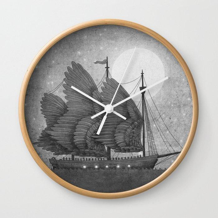 Night Odyssey  Wall Clock