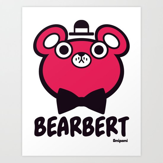 Bearbert Art Print
