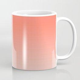 Coral Ombre, Dip Dye, Boho Coffee Mug