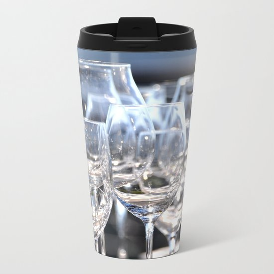 PARTY TIME Metal Travel Mug
