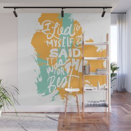 Lied To Myself Wall Mural