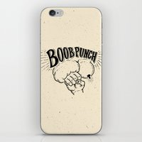 boob iPhone & iPod Skins featuring Boob Punch! by Coreysnightout