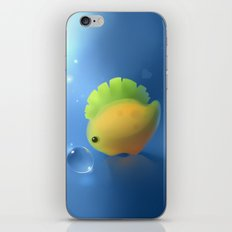 banana dino iPhone & iPod Skin