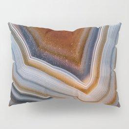 Layered agate geode 3163 Pillow Sham