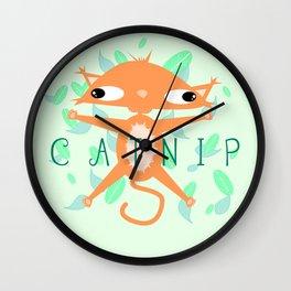 Catnip Wall Clock