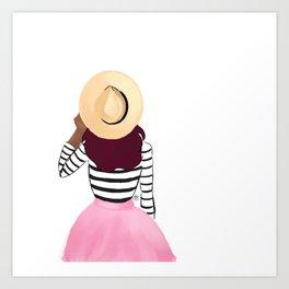 Sun Hat Art Print