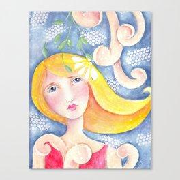 Whimsy Girl   Canvas Print