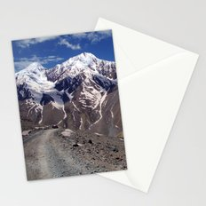 On the Road in Spiti Valley Stationery Cards