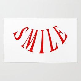 MAKE ME SMILE LOGO Rug