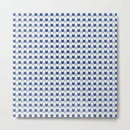 Patterns Geometric Curves Metal Print