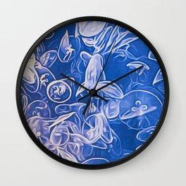 Jellyfish III Wall Clock